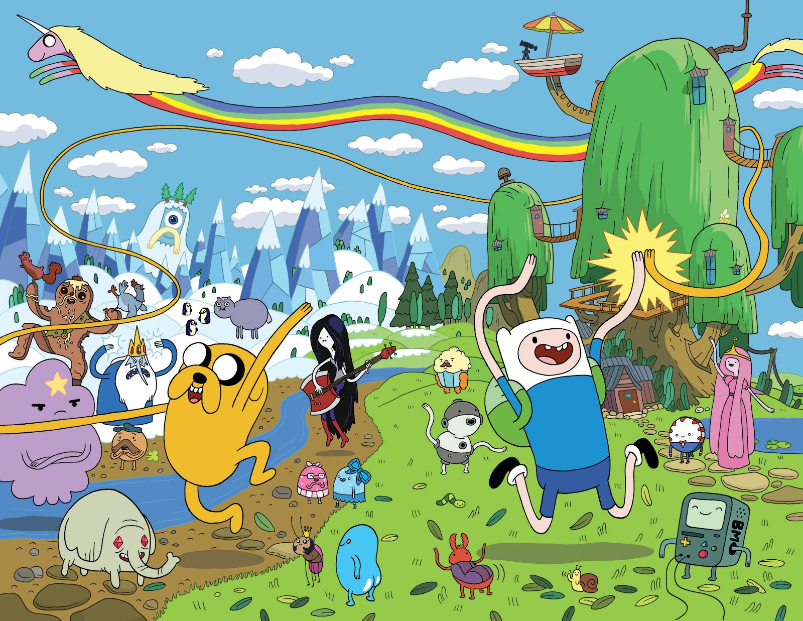 list o the week top 20 episodes of adventure time i likes what i