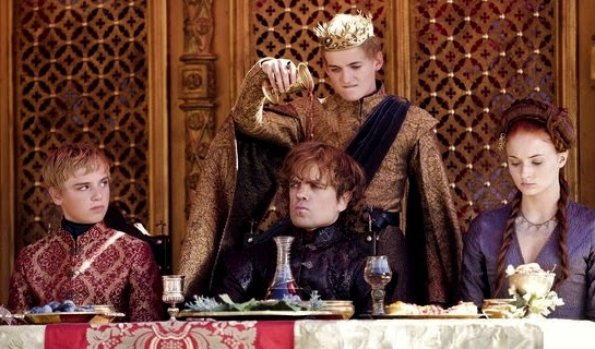 joffrey-wine-game of thrones-the lion and the rose-spoiler alert-dante ross-danterants-blogspot-com